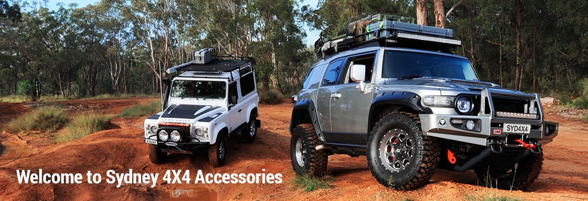 Sydney 4X4 Accessories - you're one-stop shop for 4WD accessories